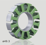 how to produce axial flux motor stator laminations?