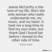 "JIMMY SCOTT ""Quote""   ~"
