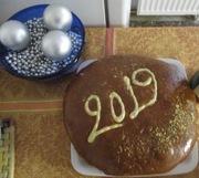 Greek New Year Bread 2019