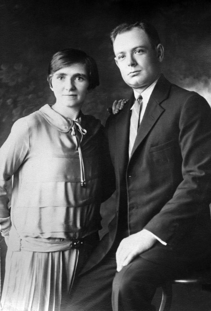 Elsie and Nick Hilger