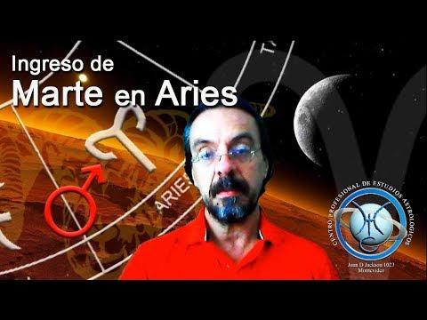 Ingreso de Marte en Aries / Astrología consciencia