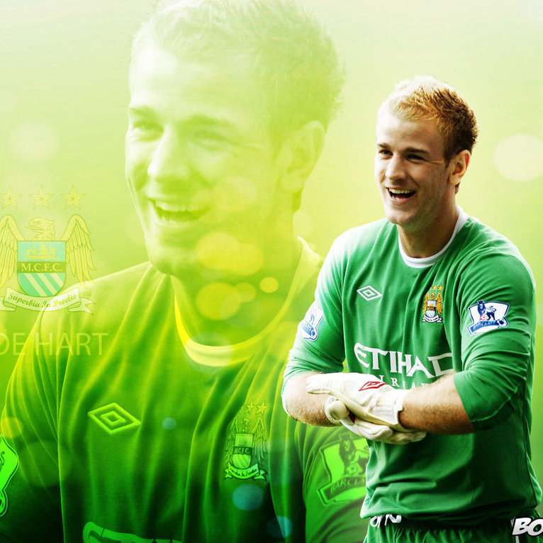 ่joe  hart   i  love  mancity- -