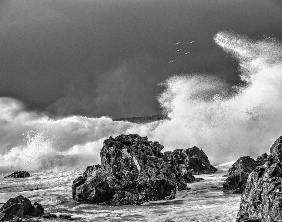 20 December 2018. Ucluelet during the big storm