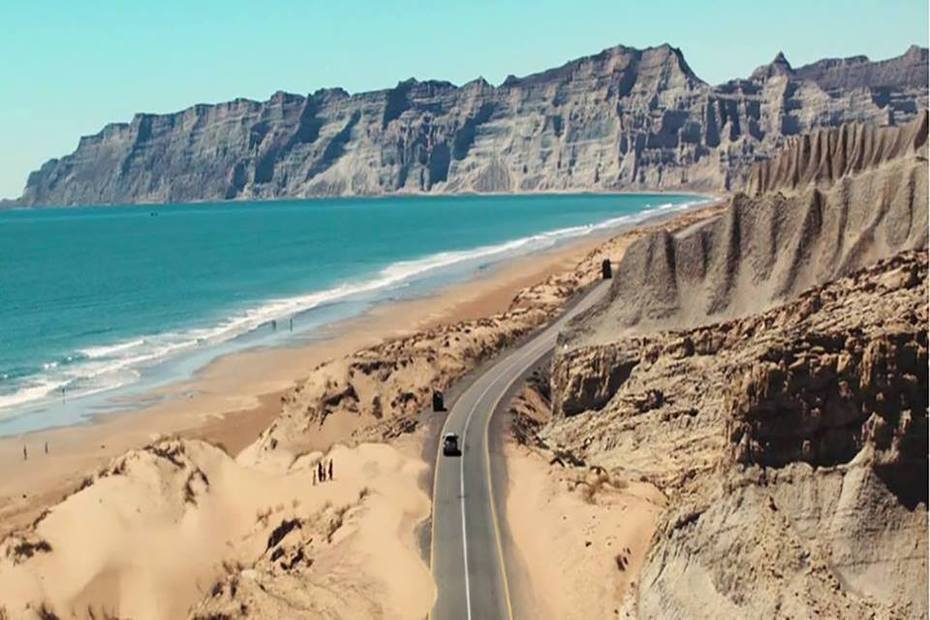 Kund Malir Beach in Balochistan, Pakistan