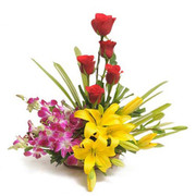Send Flowers on Valentine Day in India