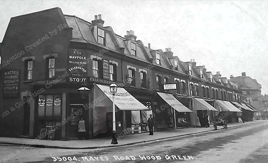 Numbers 4 - 28 Mayes Road c1905