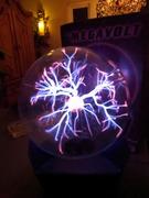 ULTRA RARE - 12'' Size Globe MEGAVOLT Plasma Lamp