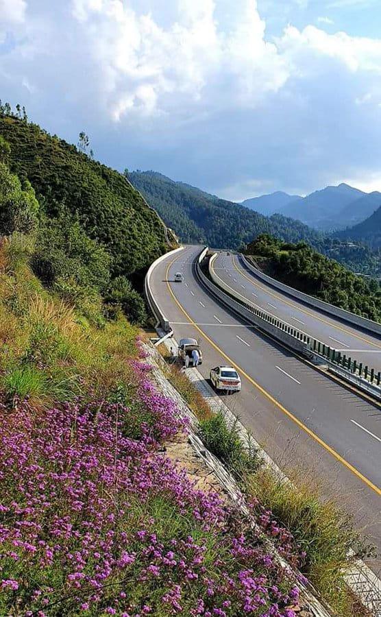 Newly Built Hazara Motorway in KP, Pakistan