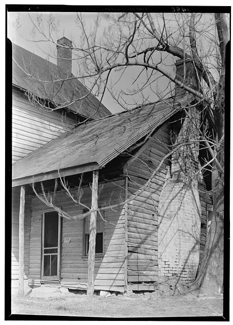 Photograph of George Washington's Surveying Office