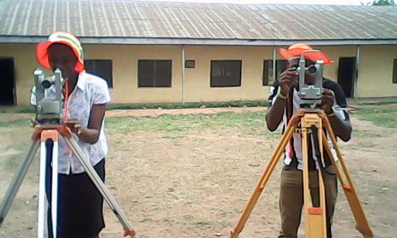 Nigerian surveyors practical exam