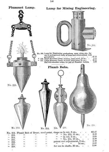 antique plumb bobs