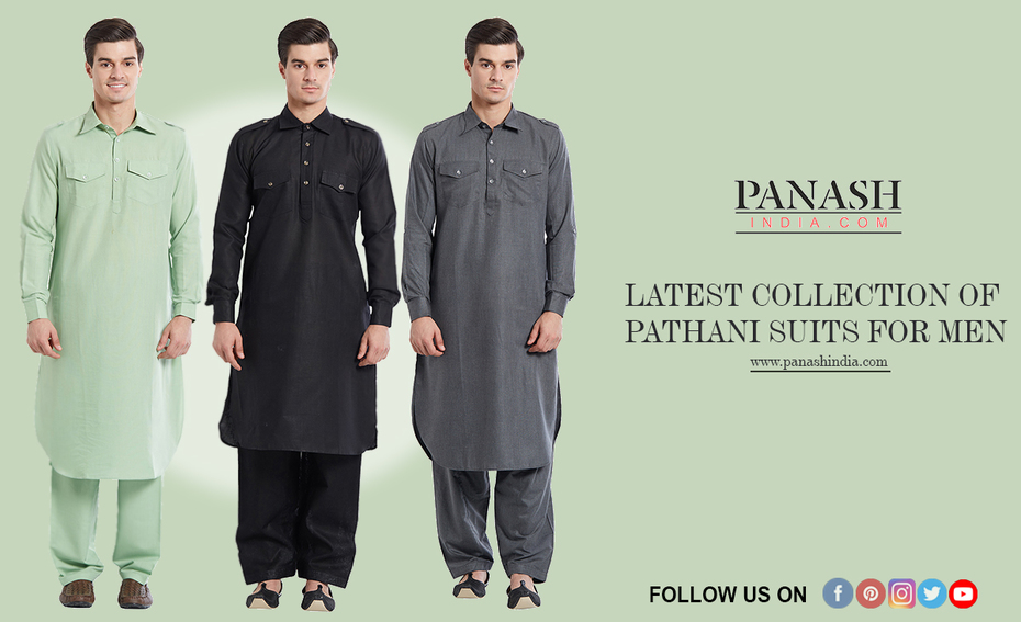 Latest Collection of Pathani Suits for Men