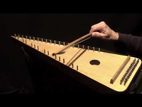 """""""QUERN PASTORES"""" on Bowed Psaltery"""