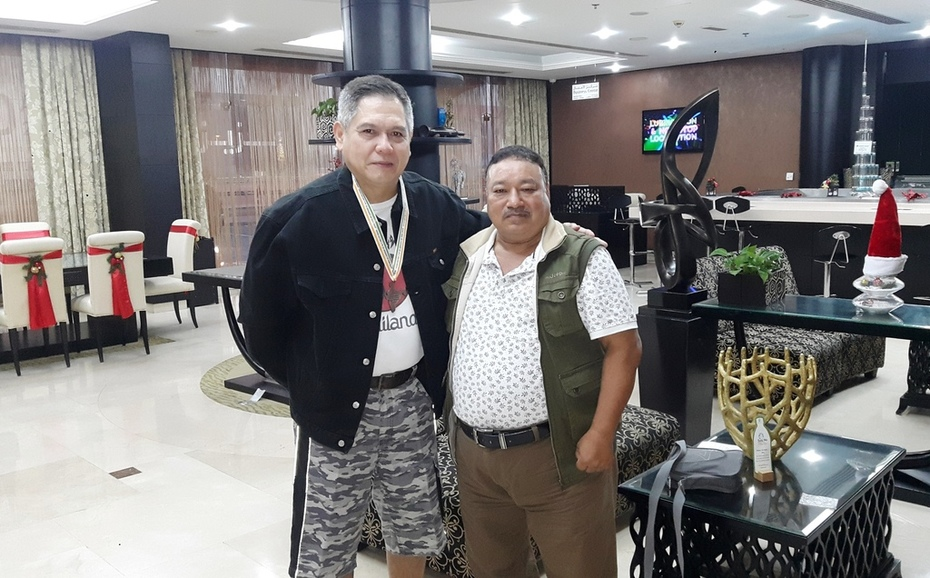 G.M.Soke George Gaspar Munoz -Na -Pilipino Philippines
