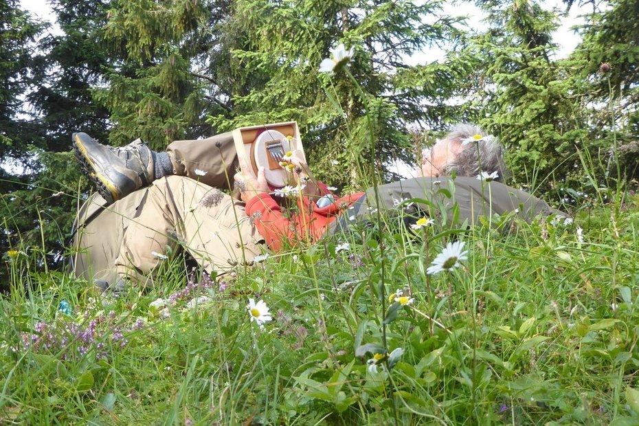 Mit der Seele Baumeln in den Chiemgauer Alpen