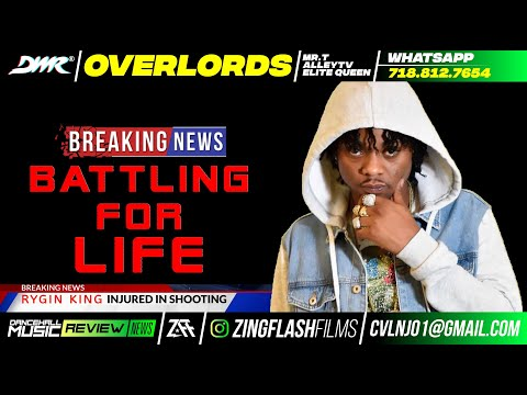 Breaking News: Rising Dancehall star Rygin King Shot, Battling For Life? Girl Friend Shot Up Too?