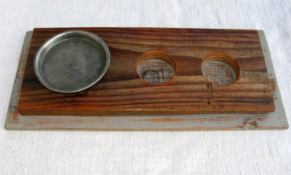 Dekoration für Teelicht, Schnäpse und Liköre
