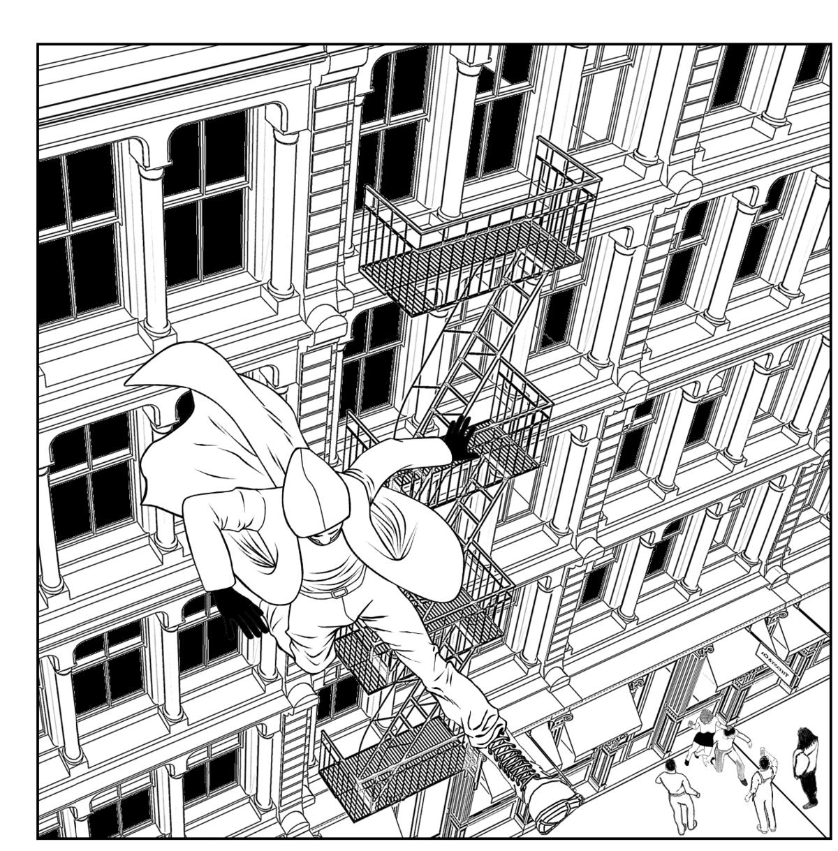 Dark Spider Mini: The Life and Times of Jamal Jones: Vol. 1 Jump