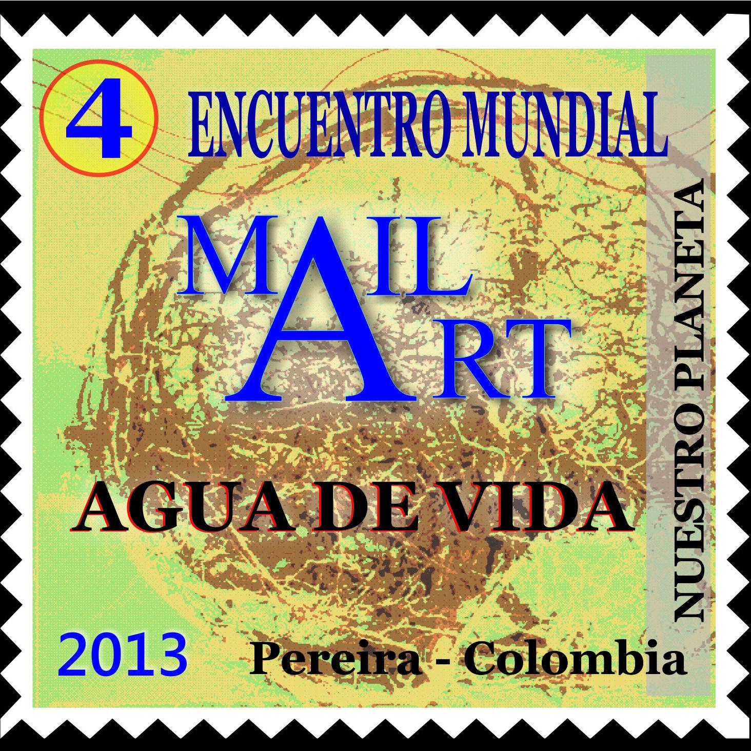 "Mail Art  ""Nuestro Planeta"""