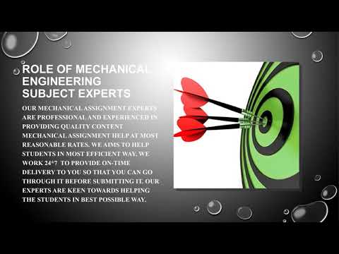 Mechanical Engineering assignment help: Time to get relaxed