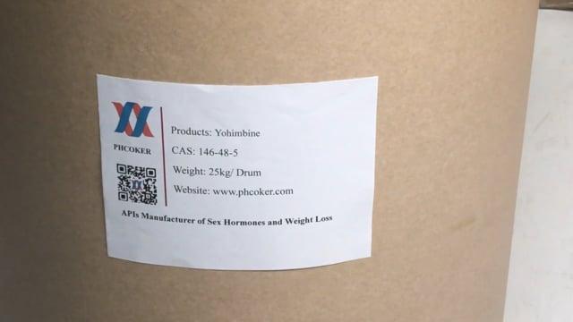 Yohimbine (146-48-5) Manufacturers - Phcoker Chemical