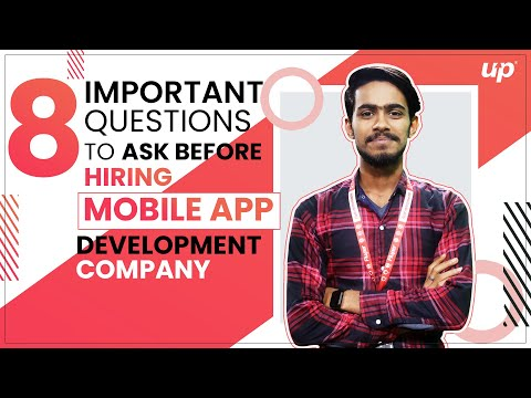 8 Important Questions to Ask Before Hiring App Development Companies