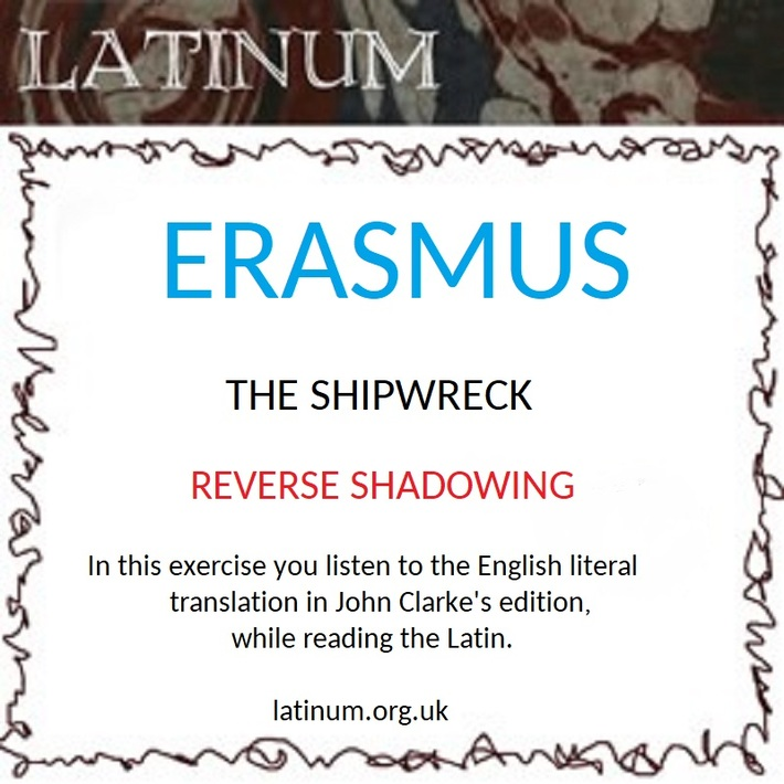 ERASMUS Shipwreck Shadowing