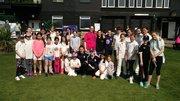 Girls Indoor Cricket Practice