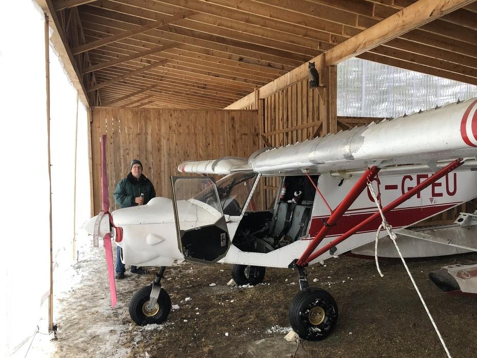 Jan 04th 2019. New hangar doors installed!