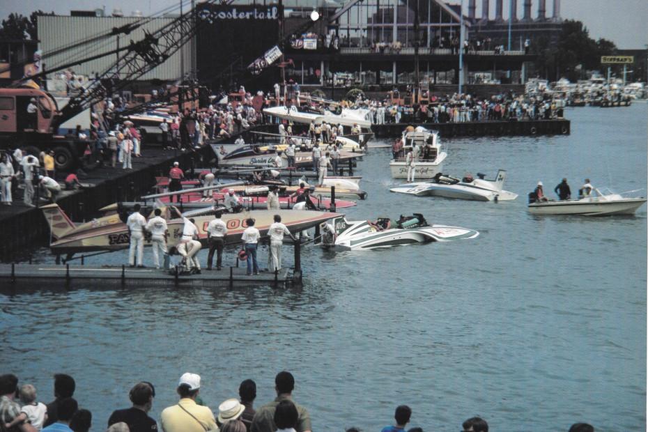 1970 Detroit Pits