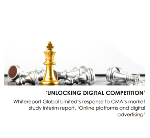 CMA: Online platform consultation - Whitereport reponse