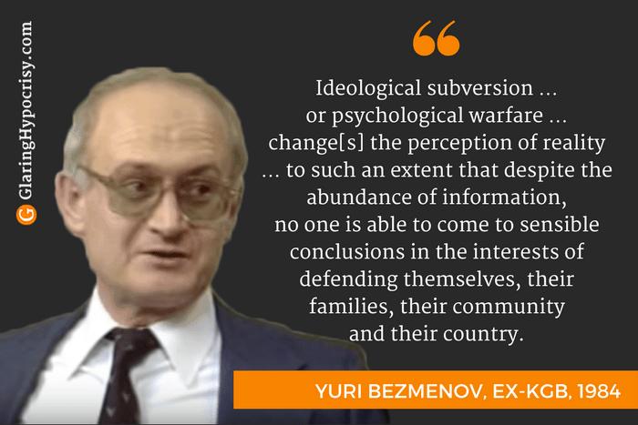 Ideological subversion
