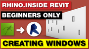 Rhino Inside Revit  Creating Windows Tutorial