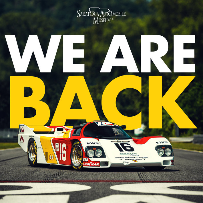 SARATOGA AUTO MUSEUM REOPENING FEATURING DYSON RACE CAR COLLECTION