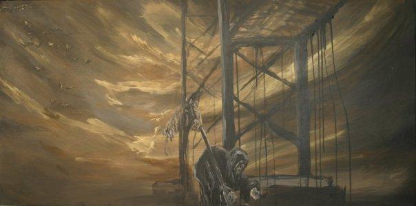 The Hermit 2007 Acrylic on canvas