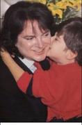 Mi amado hermanito con su hijo.