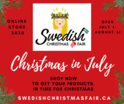 Virtual Swedish Christmas Fair 2020