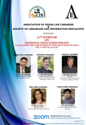 11th Webinar on National Education Policy: A Catalystic Tool for Shaping Future Education in India