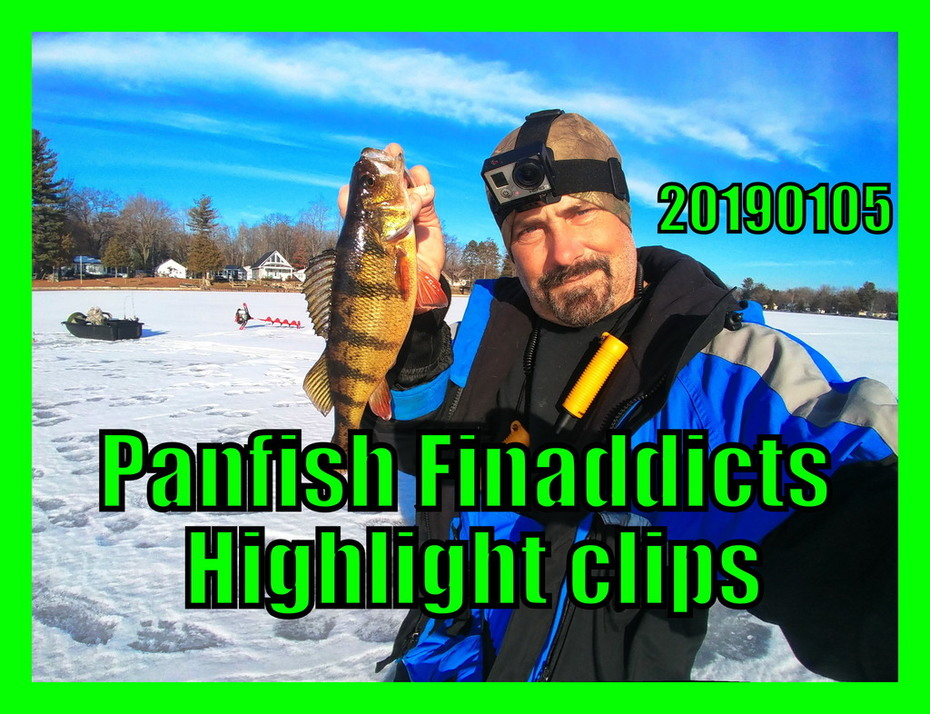 20190105-Highlight Clip for upcoming video Nice Yellow Perch!