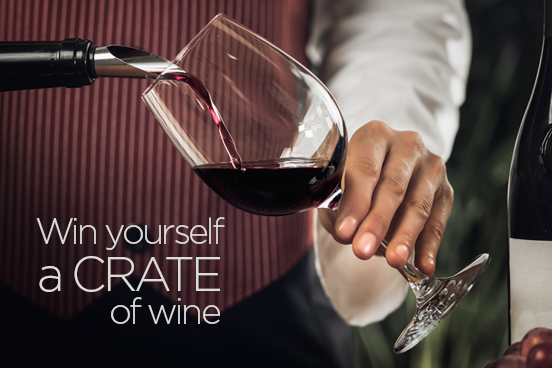 Complete our Survey and win a crate of wine or a cart of clothes?