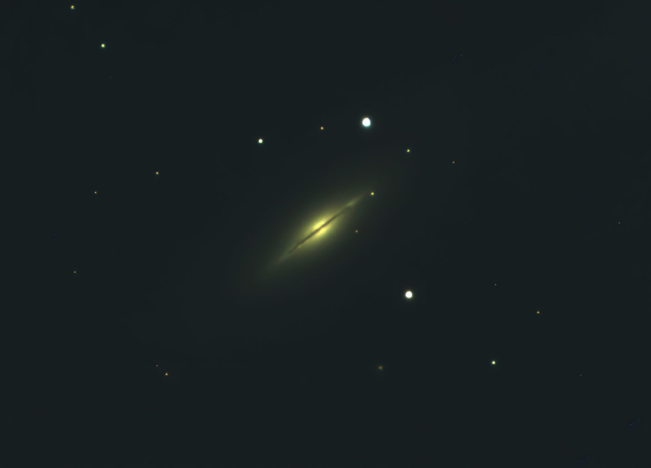 The Tiny Spindle Galaxy in The Great Bear