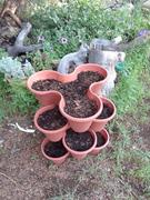 stacking flower pot