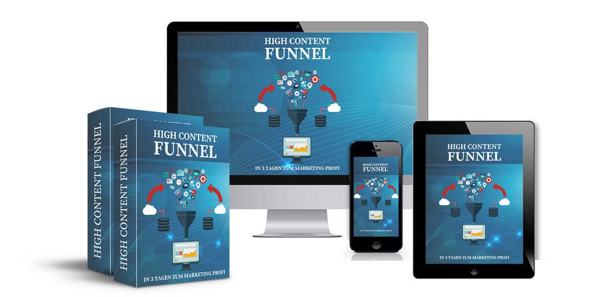 Dein High Content Funnel - In 3 Tagen zum Marketing Profi
