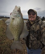 Decent Crappie on New Years Day