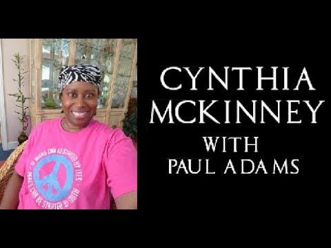 6-term Congresswoman Cynthia McKinney discusses America 2.0 with Paul Adams