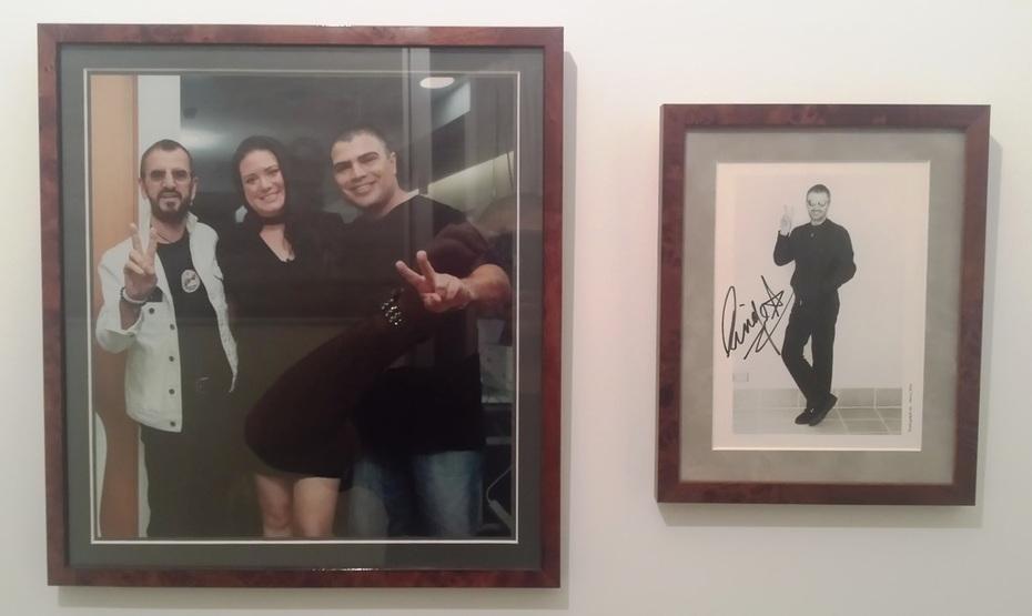 Ringo Starr Autograph Next To My Photo With Ringo