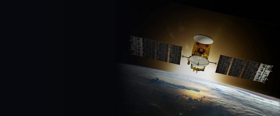 GOES NOAA Weather Satellite