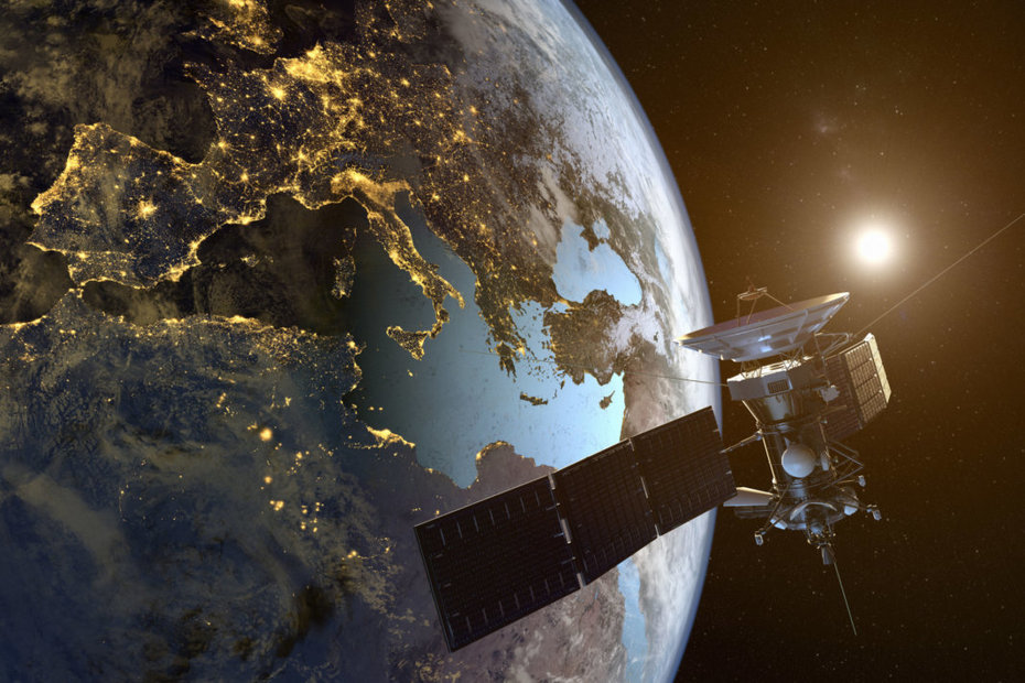 NOAA GOES Satellite