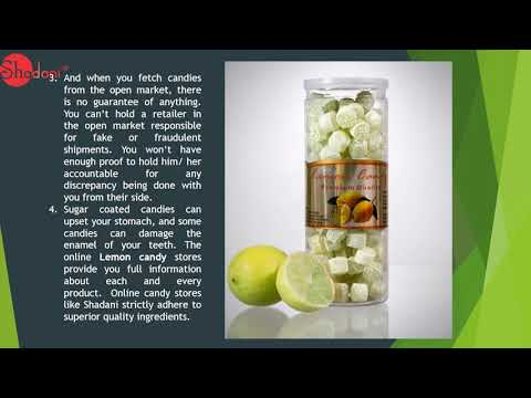 Know Importance things about Lemon Candy with Shadani