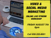Video & Social Media Marketing Online worskshop!